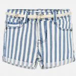 Mayoral 3209 Nautical Stripes Short Belt Available Sizes 4/5/6/7/8/9 Years Spring/Summer 2019